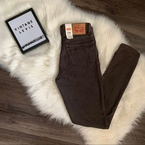 NWT Levi's 721 Vintage High Rise Skinny Jeans